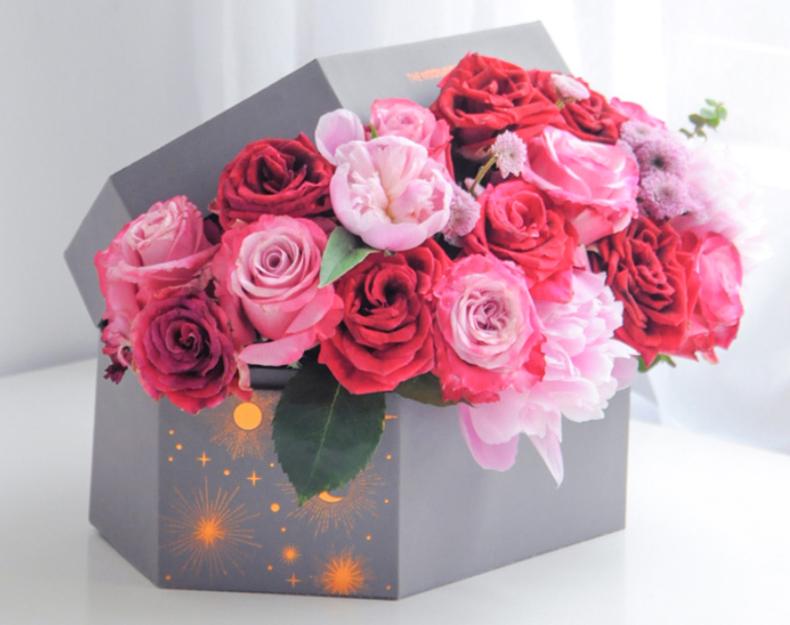 Box Flower Arrangements